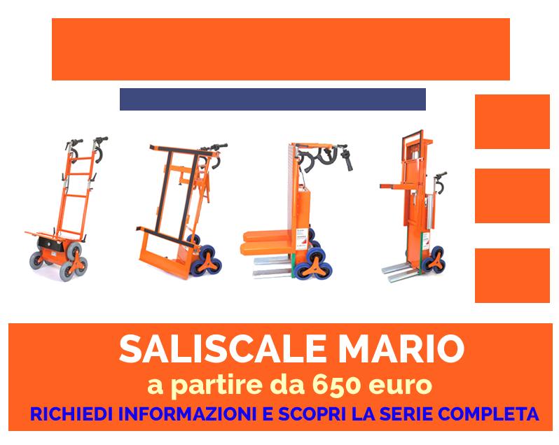 Carrello Saliscale Elettrico Prezzo Mario Saliscale Elettrico Prezzo